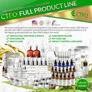 Order CTFO CBD product now