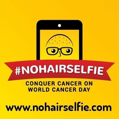 No Hair Selfie