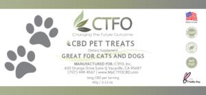 CBD pet treat