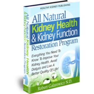 improve kidney health naturallly