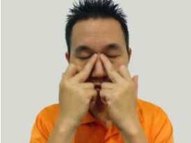 acupressure exercise for eye