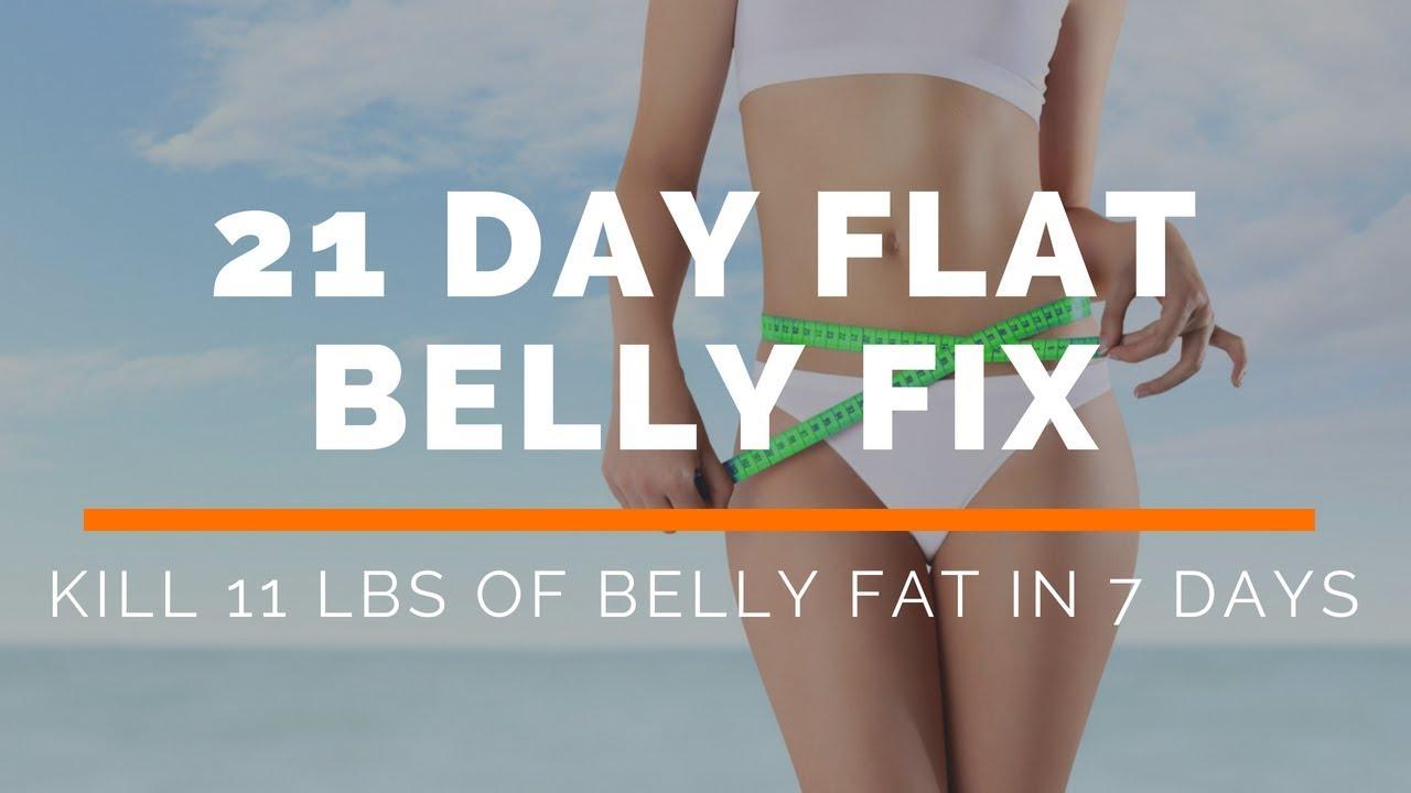 kill belly fat in 7 days