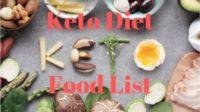 keto diet shopping list