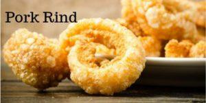 pork rind is an ideal keto diet