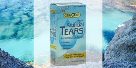 Artificial tear for dry eyes