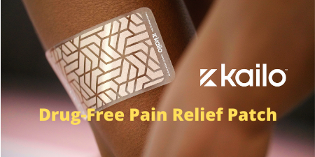 kailo drug free pain relief patch